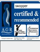 swopper - certyfikat