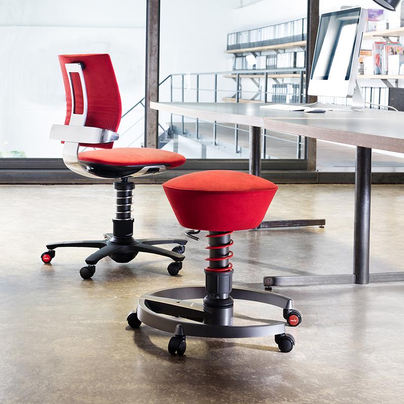 ergonomiczne krzesło biurowe swopper | aktywny fotel biurowy 3Dee