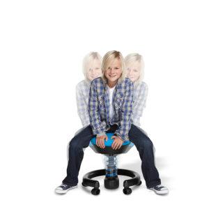Aktywne krzesełko dziecięce / stołek obrotowy: swoppster