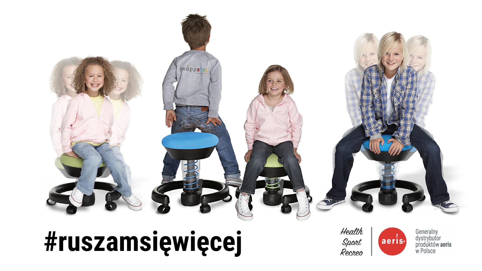 krzesło do biurka dla dziecka - swoppster
