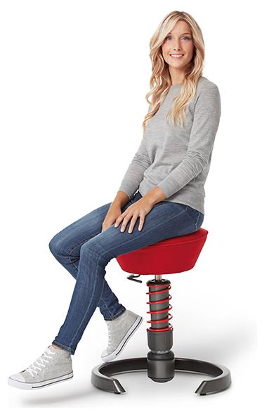 ergonomiczne krzesło swopper