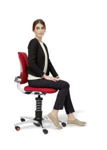 3Dee aktywne siedzenie - pozycja wyprostowana