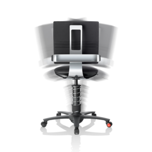 krzesło ergonomiczne - ruch na boki
