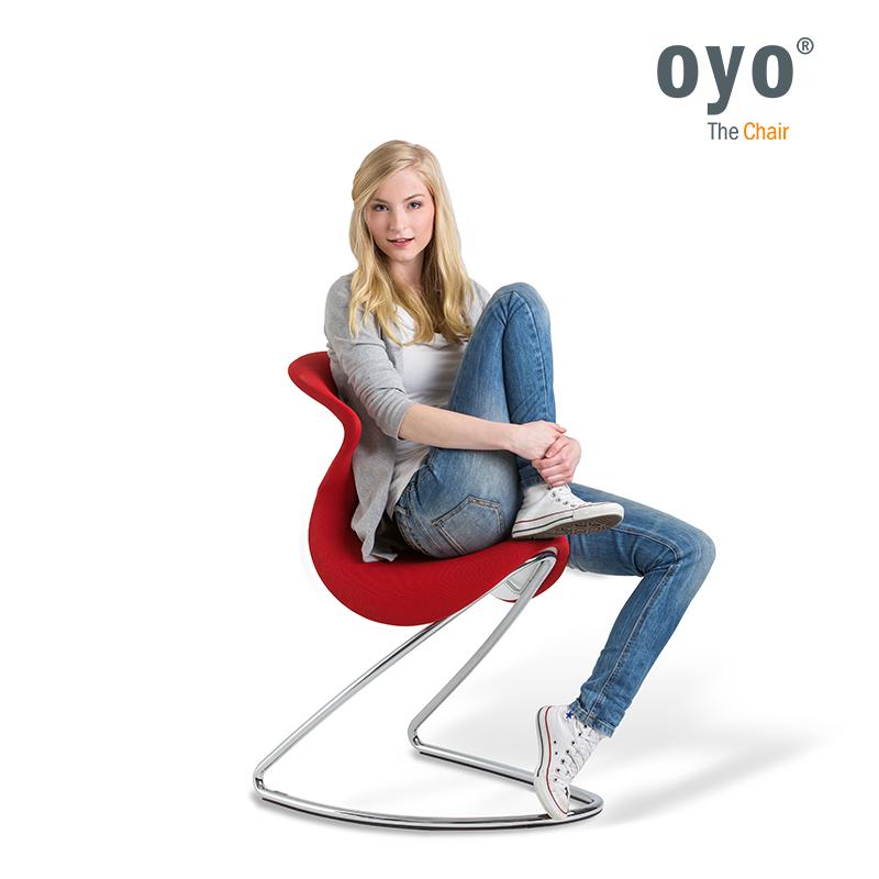 Fotel bujany do wykorzystania w biurze i w domu: oyo