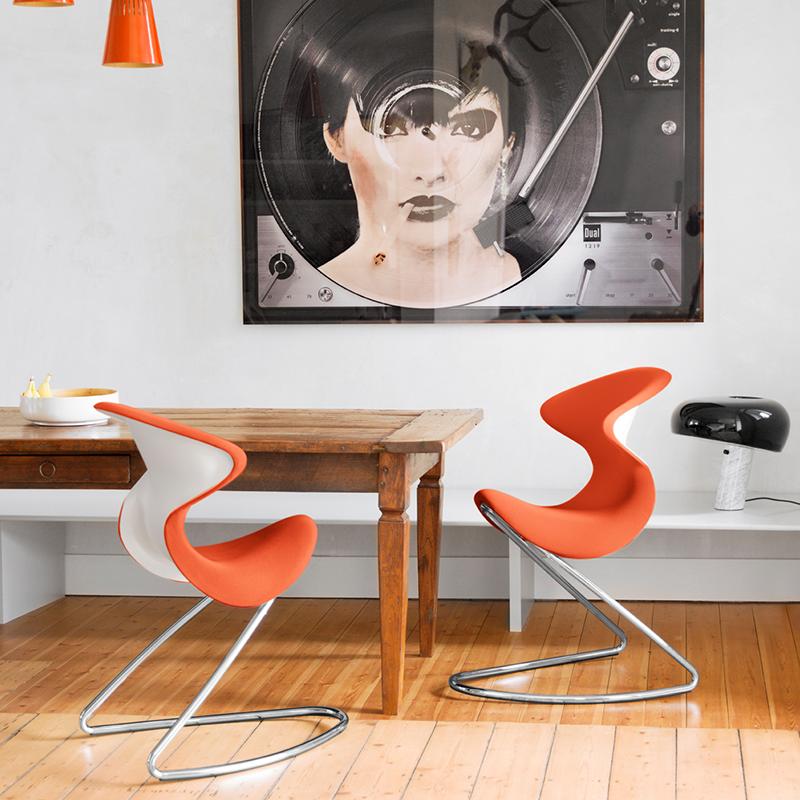 fotel bujany oyo pomarańczowy