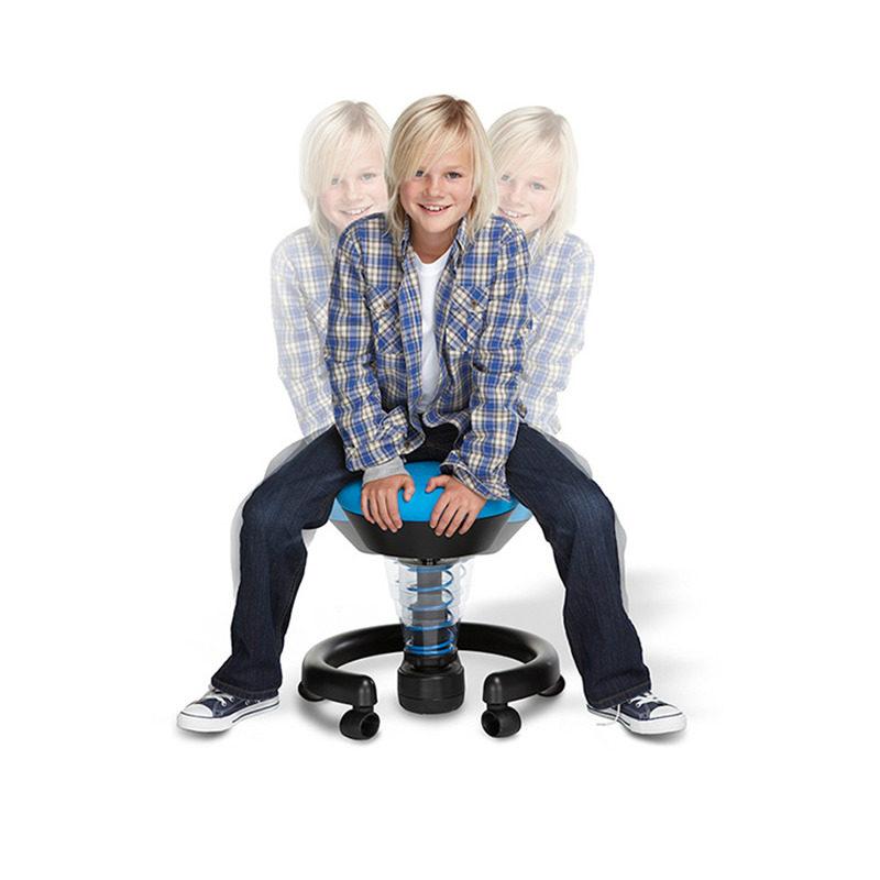 Krzeseło do biurka dla dziecka: swoppster - kolor niebieski