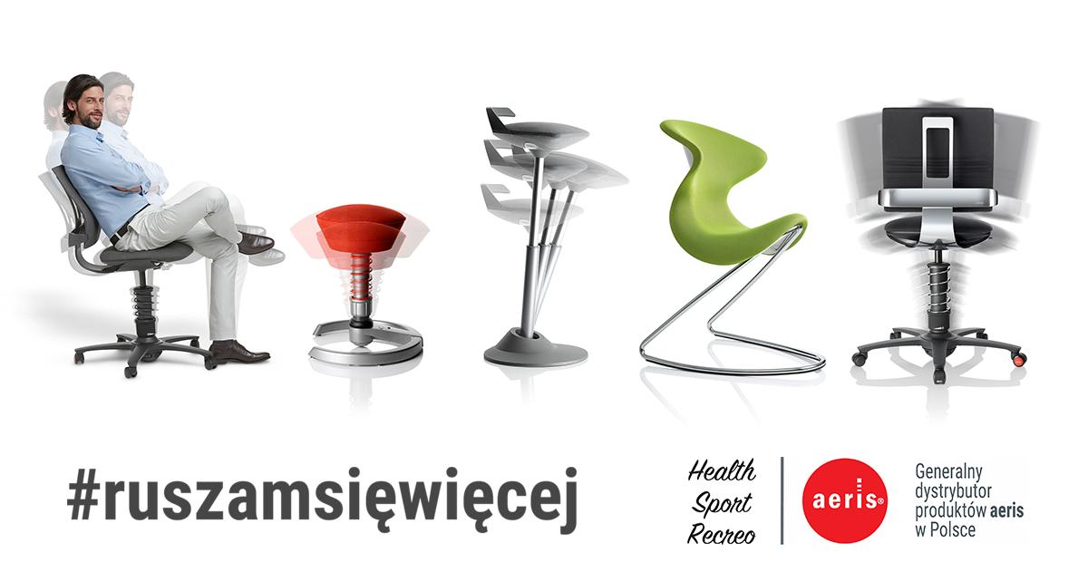 #ruszamsięwięcej - aktywne krzesła aeris