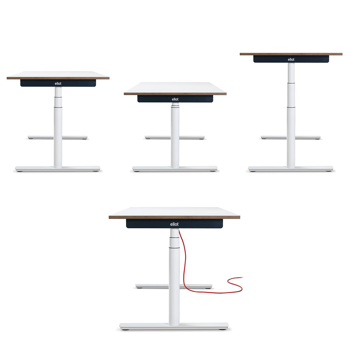 biurko regulowane Eliot