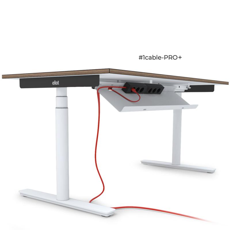 Elektryczne biurko Eliot