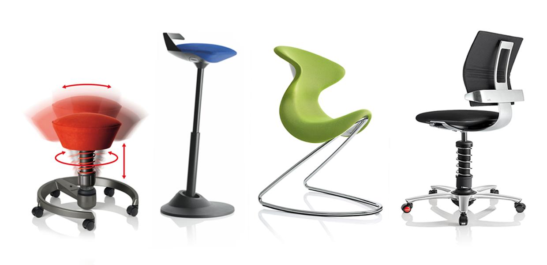krzesła i fotele ergonomiczne do biura i domu