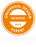Universal design award winner expert