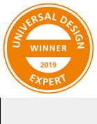 Universal design award winner expert