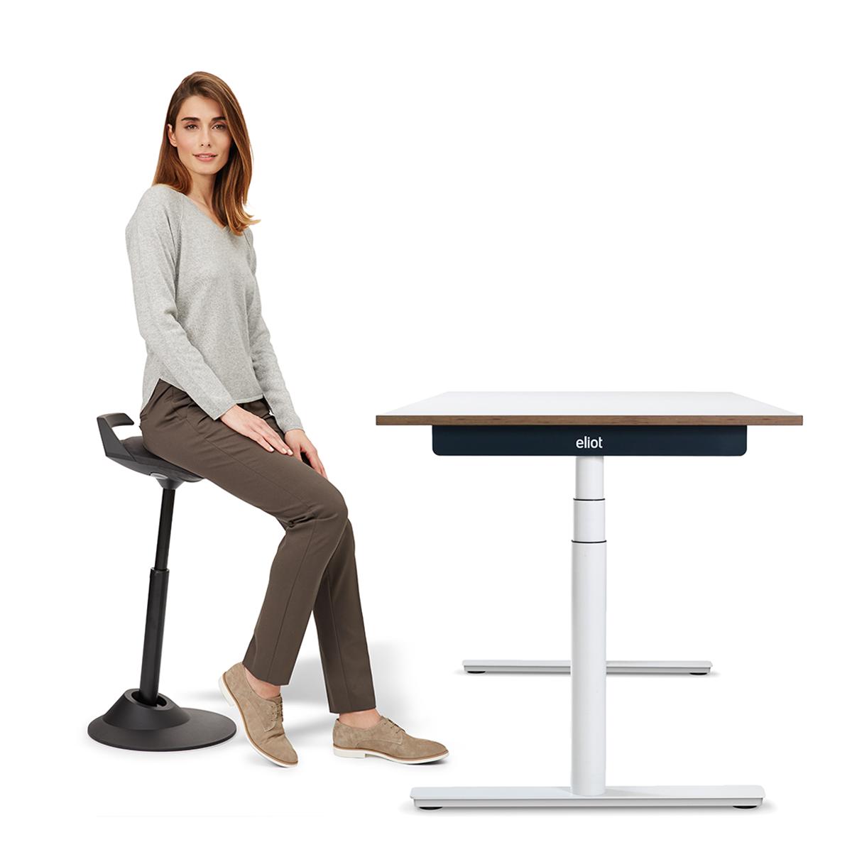 biurko regulowane eliot nowoczesny hoker muvman