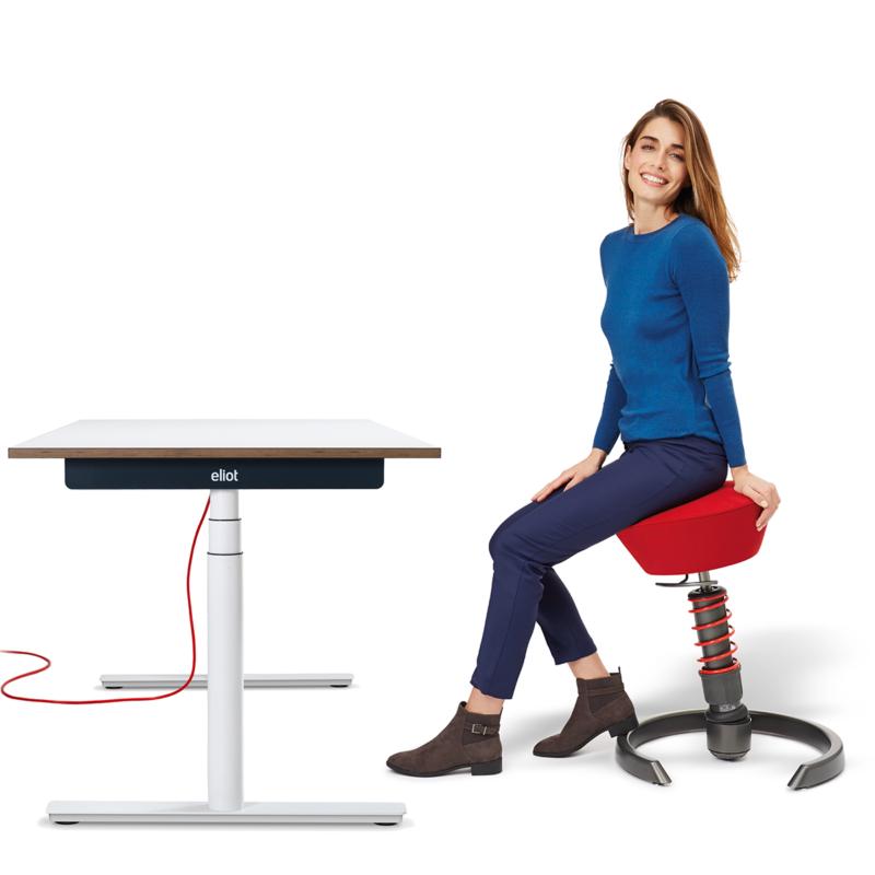 aktywne krzesło swopper biurko regulowane Eliot