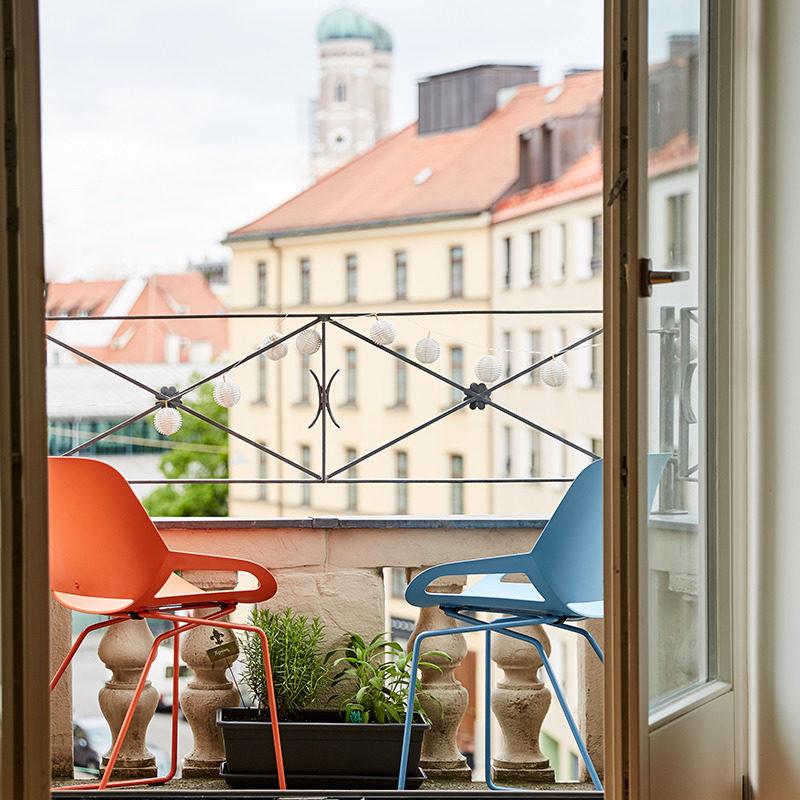 krzesło na balkon numo