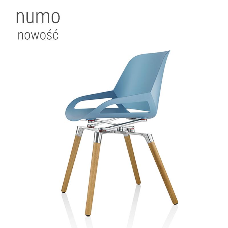 Wszechstronne krzesło ergonomiczne – numo design
